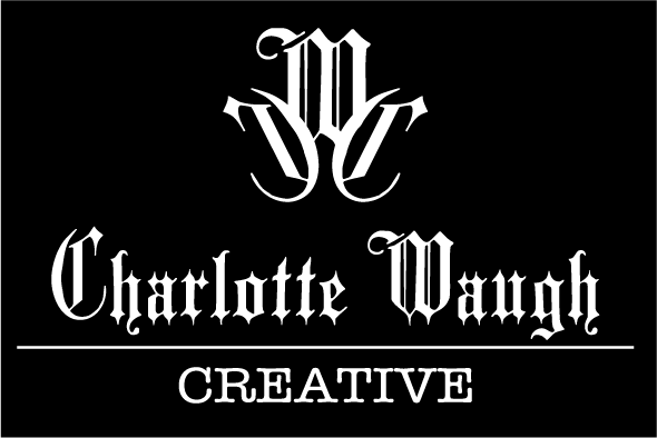 Charlotte Waugh Creative Labels black